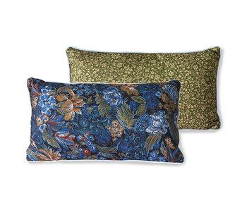 HK-Living Printed cushion blue
