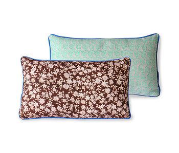 HK-Living Printed cushion brown