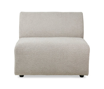 HK-Living Jax element sofa module middle ted - stone