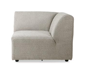 HK-Living Jax element sofamodul højre ted - sten