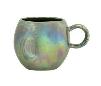 Bloomingville Paula mugs green - set of 6 pieces