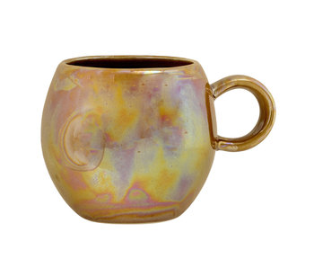 Bloomingville Paula mugs brown - set of 6 pieces