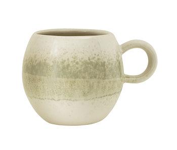 Bloomingville Paula mugs green set of 6 pieces