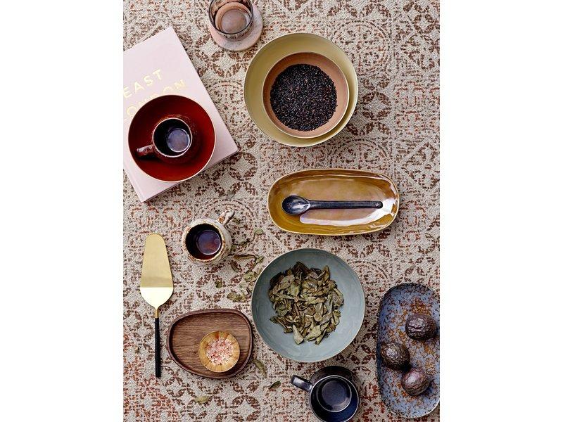 Bloomingville Paula bord bruin - set van 6 stuks