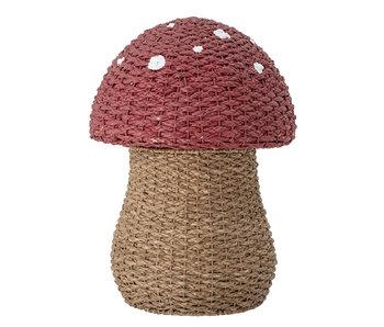 Bloomingville Mini Panier de rangement champignon avec couvercle