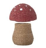Bloomingville Mini Opbergmand paddenstoel met deksel