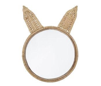 Bloomingville Mini Spiegelrohr - natürlich