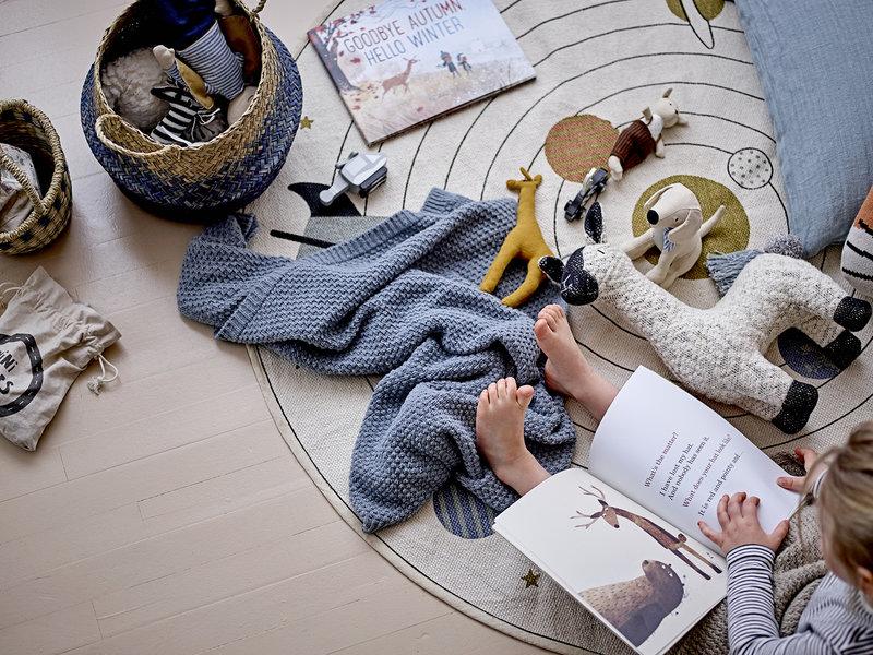 Bloomingville Mini Raumteppich aus Baumwolle