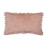Bloomingville Mini Baumwollkissen - pink 50x30cm