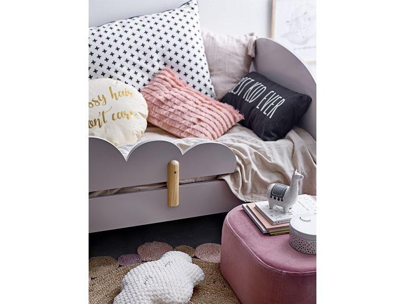 Bloomingville Mini Kussen  katoen - roze 50x30cm