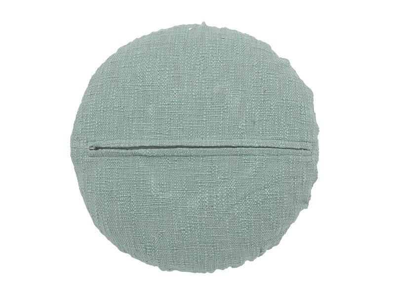 Bloomingville Mini Baumwollkissen - grün Ø33 cm