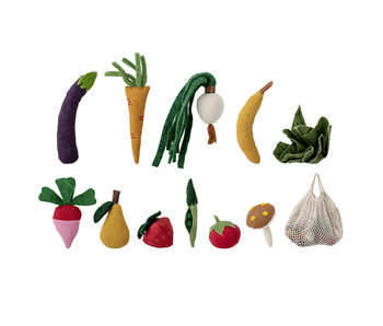 Bloomingville Mini Gemüsespielzeug - 12 Stück