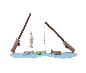 Bloomingville Mini Ruten inklusive Fisch - 7er Set
