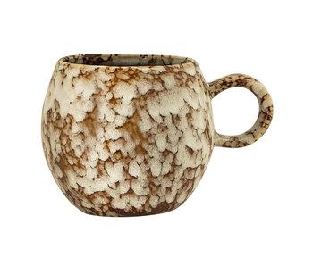 Bloomingville Paula mugs brown set of 6 pieces