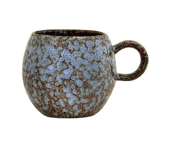 Bloomingville Paula mugs blue set of 6 pieces