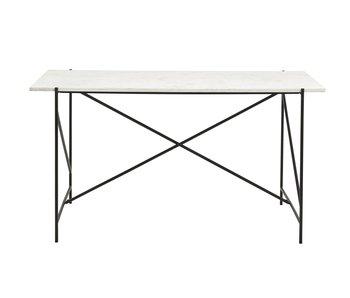 Nordal Dee desk - white marble