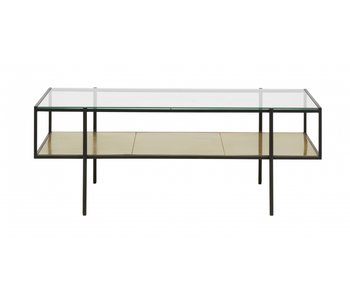 Nordal Parana coffee table L - gold