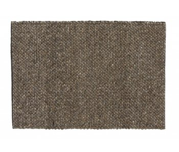 Nordal Fia rug wool - gray / brown