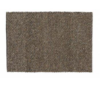 Nordal Fia Teppich Wolle - grau / braun
