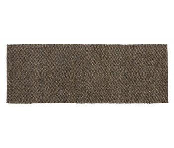 Nordal Fia Teppich Wolle - grau / braun 75x200cm