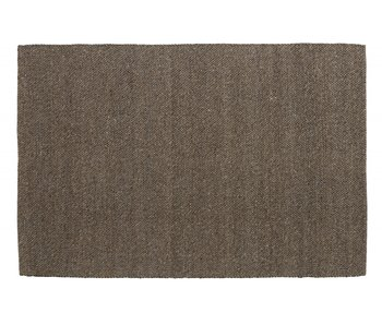 Nordal Fia rug wool - gray / brown 160x240cm