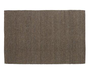 Nordal Fia vloerkleed wol - grijs/bruin 160x240cm