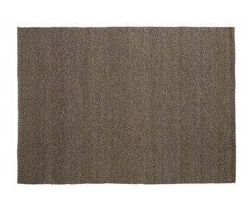 Nordal Fia vloerkleed wol - grijs/bruin 200x290cm