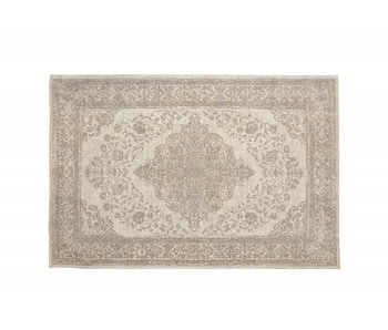 Nordal Pearl woven rug - sand / beige 160x240cm