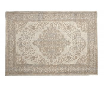 Nordal Pearl woven rug - sand / beige 200x290cm