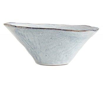 Nordal Soisalo unik skål L isblå-sæt med 4 stk