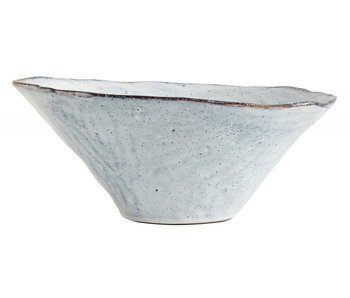 Nordal Soisalo unique bowl L ice blue -set of 4 pieces