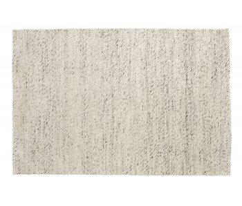 Nordal Lara rug wool - ivory / gray 200x290cm