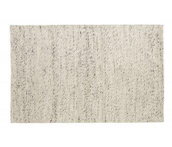 Nordal Lara teppeull - elfenben / grå 160x240cm