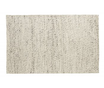 Nordal Lara vloerkleed wol - ivory/grijs 160x240cm