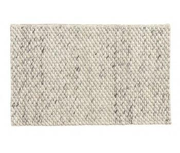 Nordal Lara teppeull - elfenben / grå 60x90cm