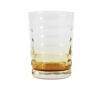 Nordal Jog glass transparent / ambre - lot de 6 pièces