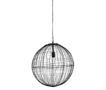 Nordal Selene hanging lamp iron - black