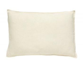 Nordal Vela kussen linnen incl vulling - off white