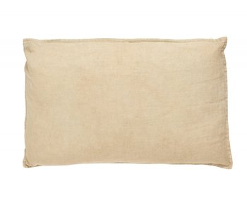 Nordal Vela cushion linen incl filling - sand