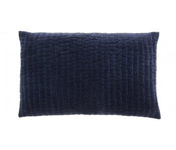 Nordal Castor cushion incl filling - dark blue