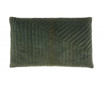 Nordal Canus pude inkl. Fyld - mørkegrøn