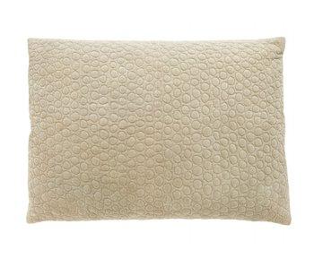 Nordal Mizar cushion linen incl filling - pistachio / green