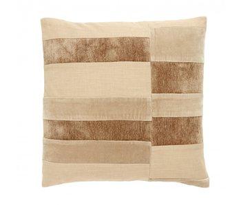 Nordal Capella pillow incl filling - light brown