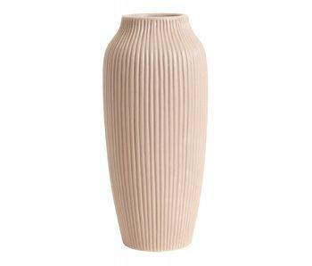 Nordal Hano høy vase - rosa