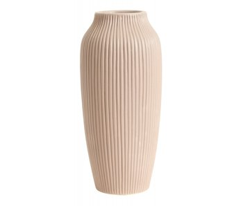Nordal Hano tall vase - pink
