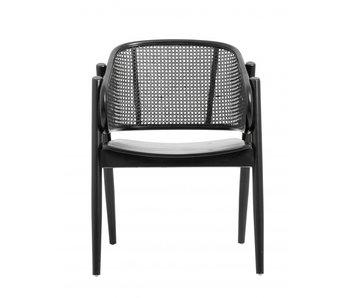Nordal Wicky lounge stoel - zwart
