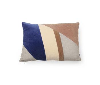 HK-Living Cushion velvet multicolour