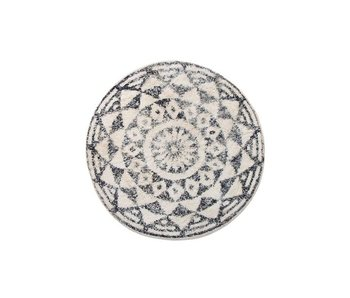 HK-Living Bathmat round cotton 80 cm