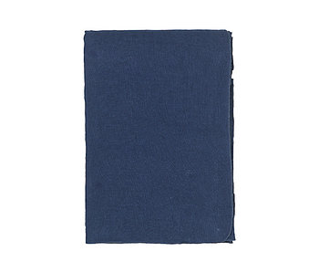 Broste Copenhagen Gracie eco tablecloth 160x300cm - blue