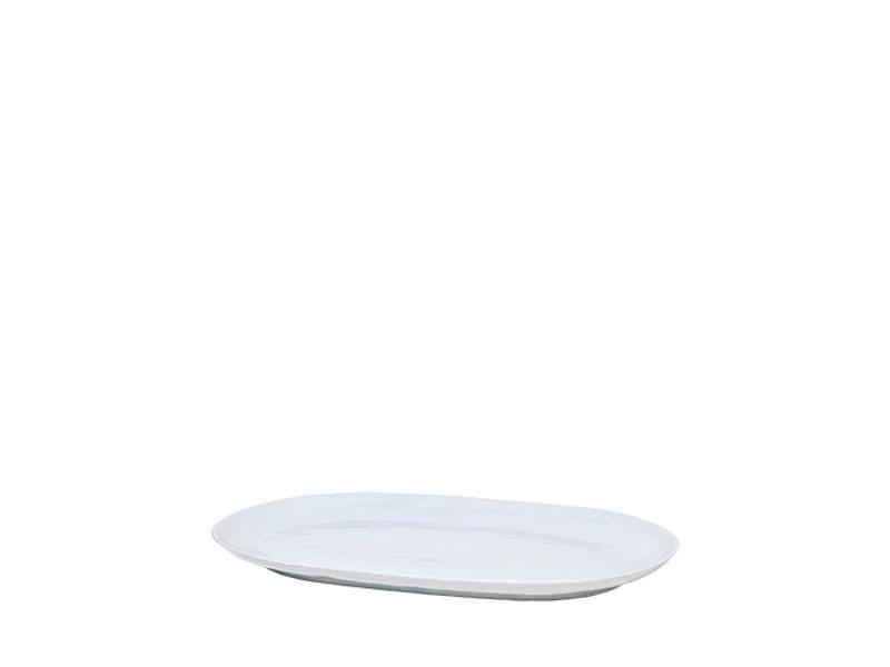Broste Copenhagen Shape bord lichtgrijs - W40XL25XH2,5CM
